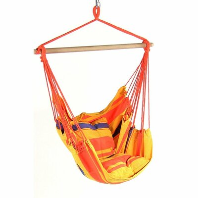Svenn Cotton and Polyester Chair Hammock Color: Summer Breeze