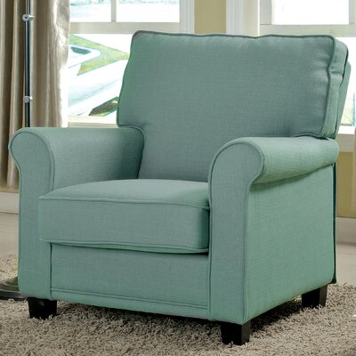 Torsten Arm Chair Color: Blue