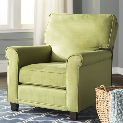 Torsten Armchair Color: Green