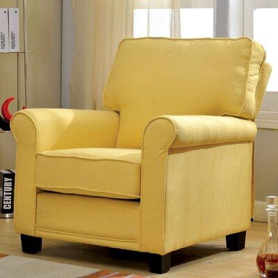 Torsten Armchair Color: Yellow