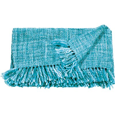 Larisa Blanket Color: Turquoise