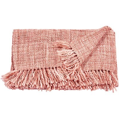 Seacor Blanket Color: Rose