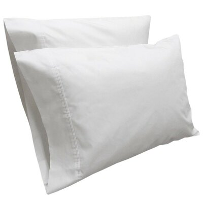 Sint Solid Pillow Case Color: Sea Salt