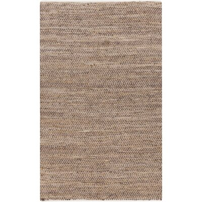 Lorna Handmade Taupe Area Rug Rug Size: Rectangle 5 x 8