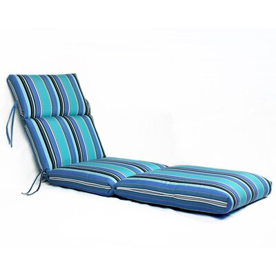 Dolce Oasis Outdoor Sunbrella Chaise Lounge Cushion