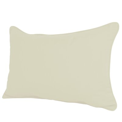 Wyckoff Reversible Outdoor Lumbar Pillow Color: White