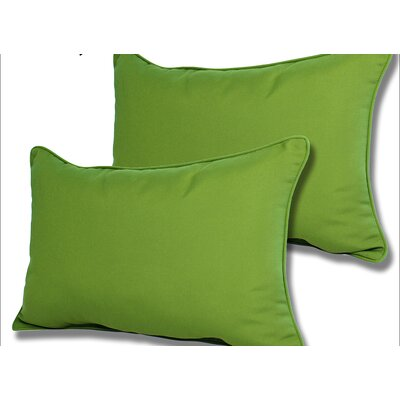 Wyckoff Reversible Outdoor Lumbar Pillow Color: Macaw