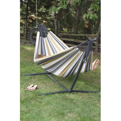 Dorinda Cotton Hammock with Stand Fabric: Desert Moon