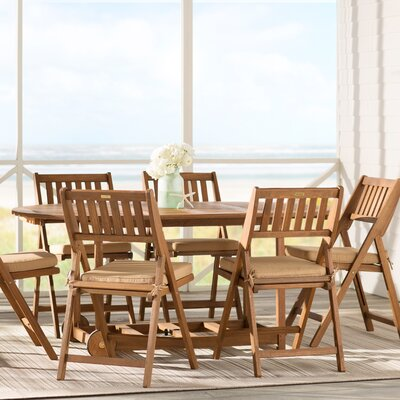 Randwick 7 Piece Dining Set with Cushions