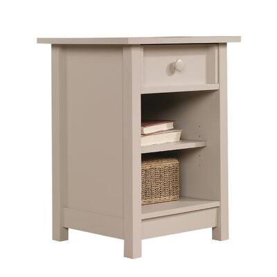 Bithlo 1 Drawer End Table Finish: Cobblestone