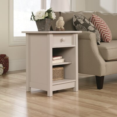 Bithlo 1 Drawer End Table Color: Cobblestone