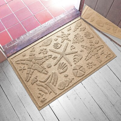 Anitra Beachcomber Doormat Color: Camel