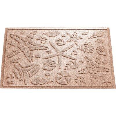 Anitra Beachcomber Doormat Color: Medium Brown