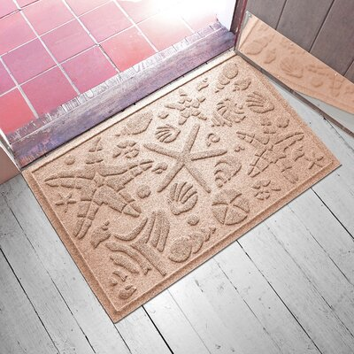 Anitra Beachcomber Doormat Color: Medium Brown