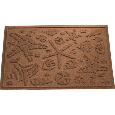 Anitra Beachcomber Doormat Color: Dark Brown