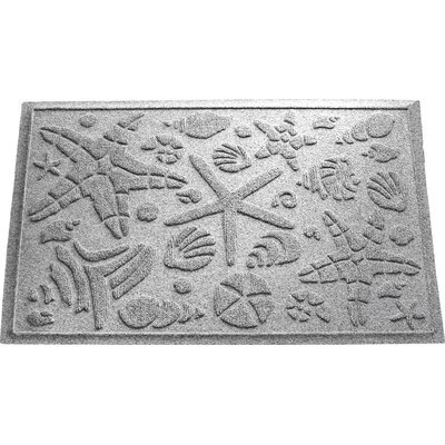 Anitra Beachcomber Doormat Color: Medium Gray