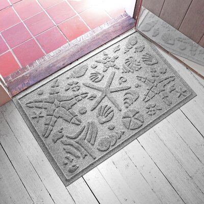 Anitra Beachcomber Doormat Color: Medium Gray