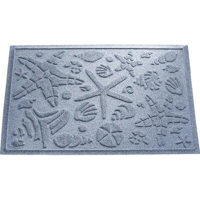 Anitra Beachcomber Doormat Color: Bluestone