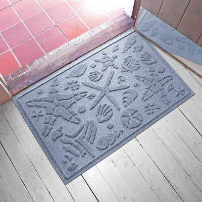 Anitra Beachcomber Doormat Color: Bluestone