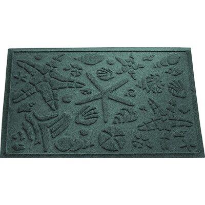 Anitra Beachcomber Doormat Color: Evergreen