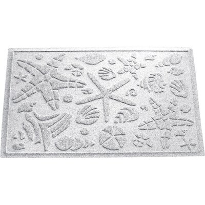 Anitra Beachcomber Doormat Color: White