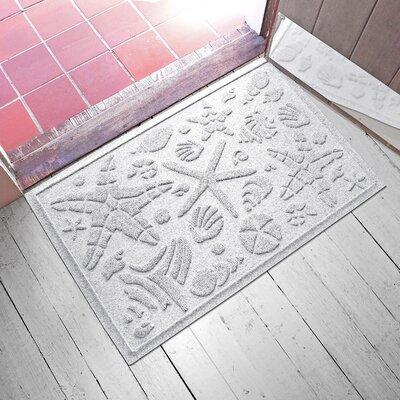 Anitra Beachcomber Doormat Color: White