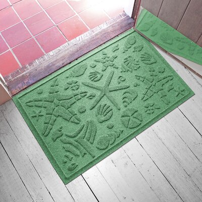 Anitra Beachcomber Doormat Color: Light Green