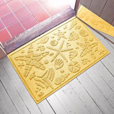Anitra Beachcomber Doormat Color: Yellow