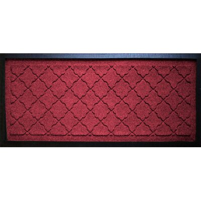 Anitra Cordova Boot Tray Color: Red / Black