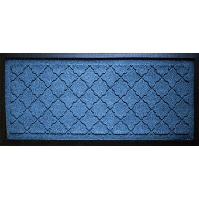 Anitra Cordova Boot Tray Color: Medium Blue