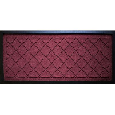 Anitra Cordova Boot Tray Color: Bordeaux