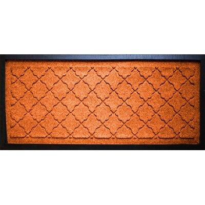 Anitra Cordova Boot Tray Color: Orange