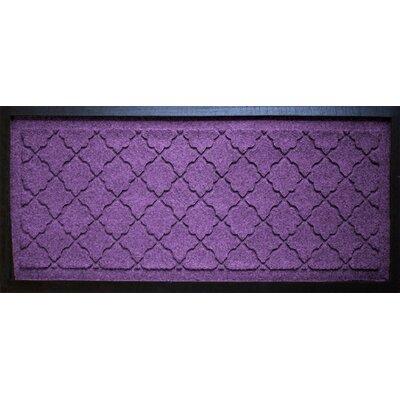 Anitra Cordova Boot Tray Color: Purple