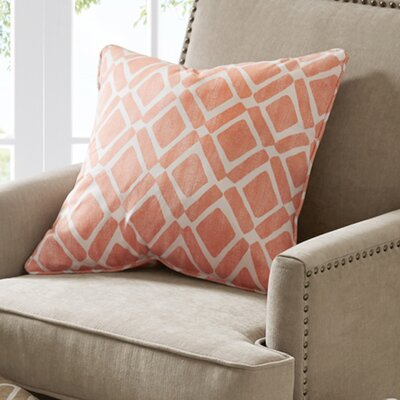Annagrove Throw Pillow Color: Orange