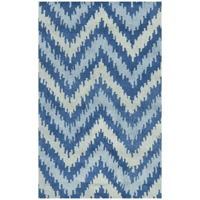 Fairlane Blue Area Rug Rug Size: Rectangle 5 x 8