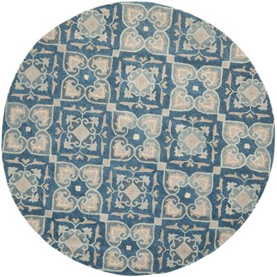 Leonia Blue/Grey Area Rug Rug Size: Rectangle 4 x 6