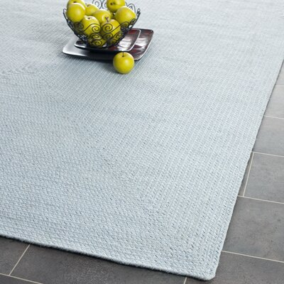 Lissie Hand Woven Light Blue Area Rug Rug Size: Rectangle 6 x 9