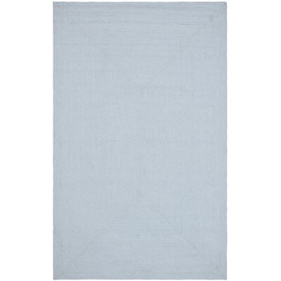 Lissie Hand Woven Light Blue Area Rug Rug Size: Runner 26 x 14