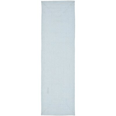 Lissie Light Blue Rug Rug Size: Runner 23 x 8