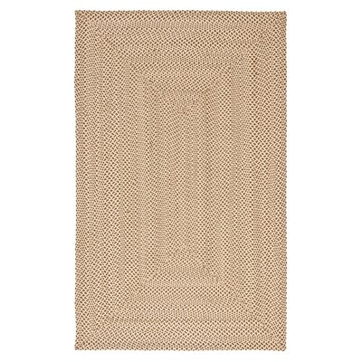 Lissie Hand-Woven Cotton Beige/Brown Area Rug Rug Size: Rectangle 6 x 9