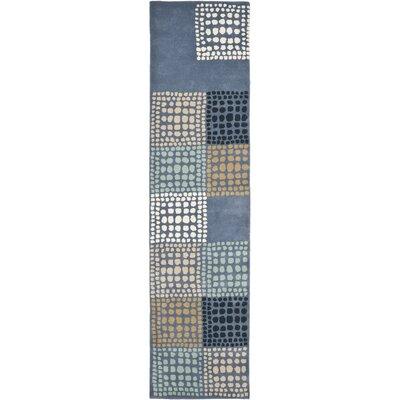 Leonia Grey/Multi Area Rug Rug Size: Runner 23 x 9
