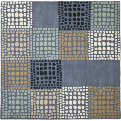 Leonia Grey/Multi Area Rug Rug Size: Square 7