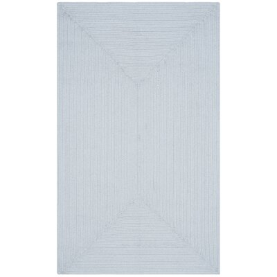 Lissie Light Blue Rug Rug Size: Oval 8 x 10