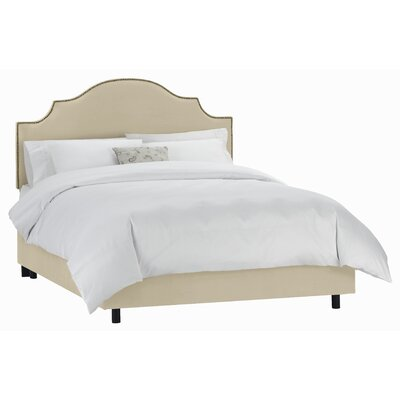 Revley Upholstered Panel Bed Size: King, Color: Buckwheat