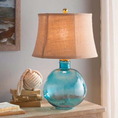 Lombard 27 Table Lamp Base Color: Light Blue