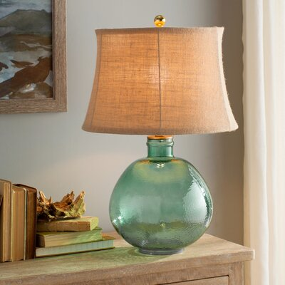 Lombard 27 Table Lamp Base Color: Light Green