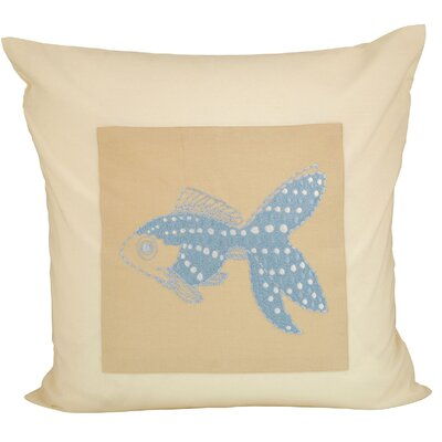 Azalea Cotton Throw Pillow
