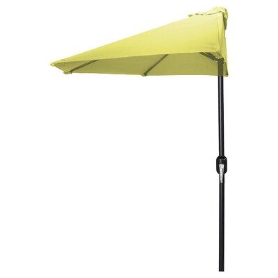 9 Sheehan Half Market Umbrella Fabric: Canary Yellow