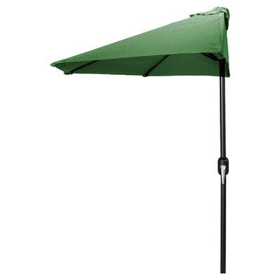 9 Sheehan Half Market Umbrella Fabric: Green