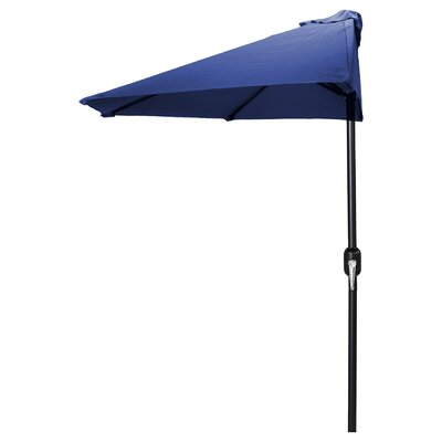 Sheehan 9 Market Umbrella Fabric: Navy